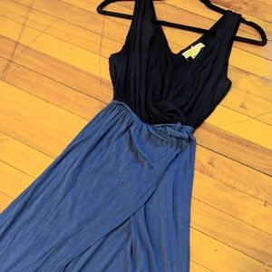 Urban Outfitters Grecian faux wrap maxi dress